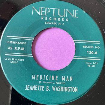 Jeanette B. Washington-Medicine man-Neptune E+