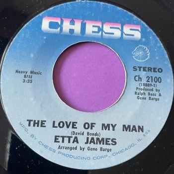 Etta James-The love of my man-Chess E+