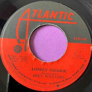 Mike Williams-Lonely Soldier-Jamaica Atlantic M-