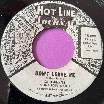 Al Greene-Don't leave me-Hot Line E+