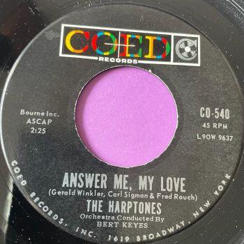 Harptones-Answer me, love me-Coed M-