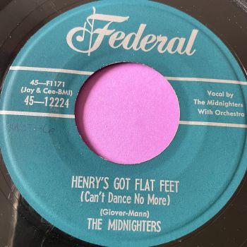 Midnighters-Henry's got flat feet-Federal E+