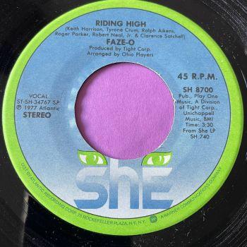 Faze-O-Riding high-She E