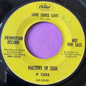 Masters of Soul-Love loves love-Capitol Demo vg+