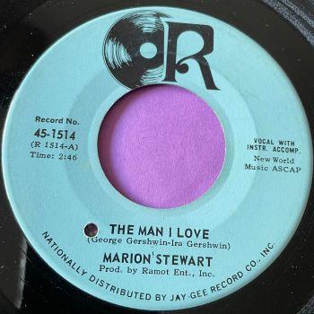 Marion Stewart-The man I love-R E+