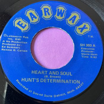 Hunt's Determination-Heart and soul-Earwax E+