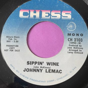 Johnny LeMac-Sippin' wine-Chess E+