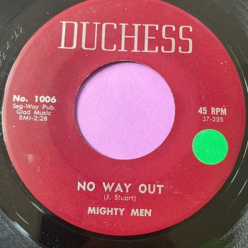 Mighty Men-No way out-Duchess vg+
