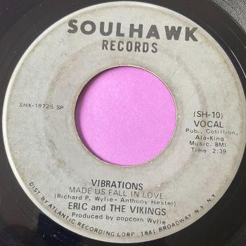 Eric and the Vikings-Vibrations-Soul Hawk vg+
