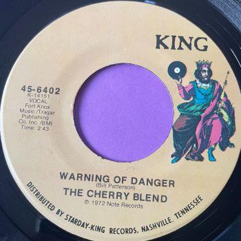 Cherry Blend-Warning of danger-King E