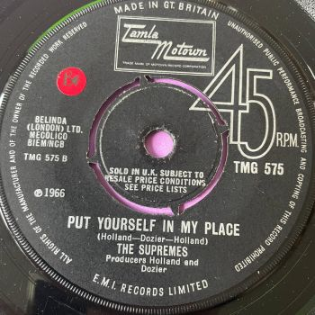 Supremes-Put yourself in my place-TMG 575 vg+