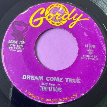 Temptations-Dream come true-Gordy vg