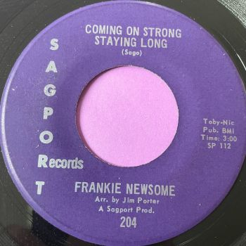 Frankie Newsome-Coming on strong staying long-Sagport E+
