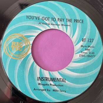 Al Kent-You've got to pay the price-Rictic E+