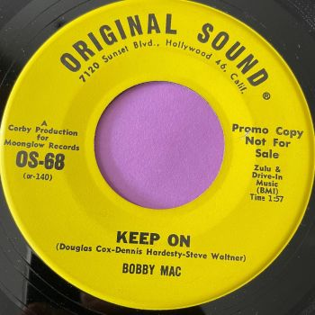 Bobby Mac-Keep on/ Walking together-Original  Sound Demo E+