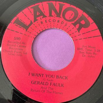 Gerald Faulk-I want you back-Lanor E+