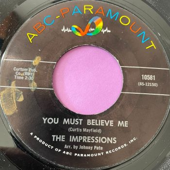 Impressions-You must believe in me-ABC E