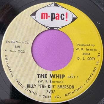 """Billy """"The Kid"""" Emerson-The whip-M-Pac E"""
