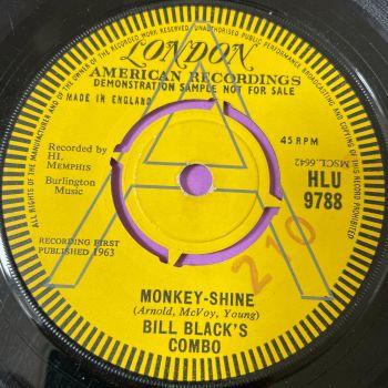 Bill Black's Combo-Monkey-Shine-UK London Demo vg+