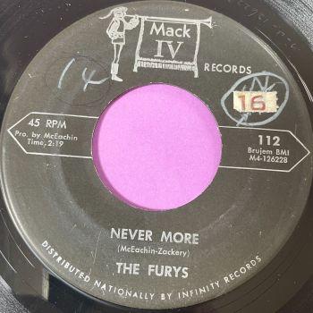 Furys-Never more-Mack iv vg+