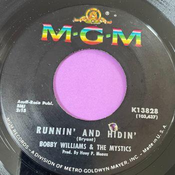 Bobby Williams-Runnin' and hidin'-MGM E+