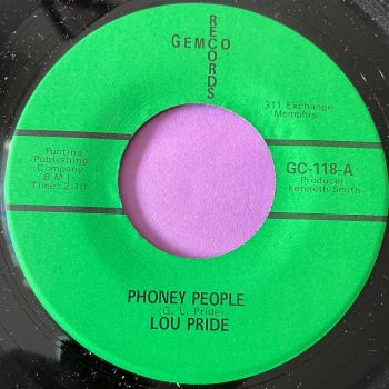 Lou Pride-Phoney people-Gemco M-