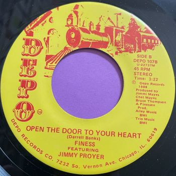 Finess-Open the door to your heart-Depo E+