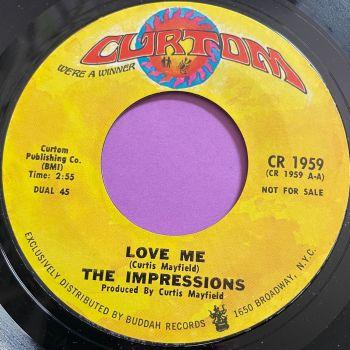 Impressions-Love me-Curtom M-