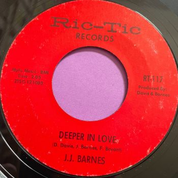 J.J Barnes-Deeper in love-Rictic E