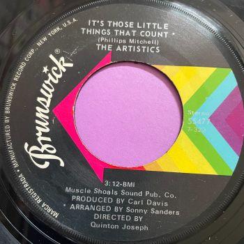 Artistics-It's those little things that count-Brunswick E
