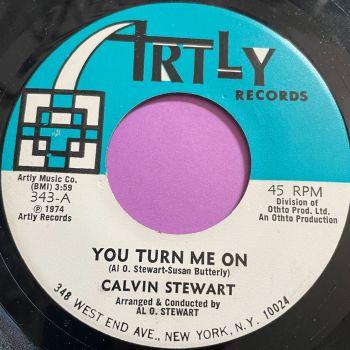 Calvin Stewart-You turn me on/Try loving me-Artly E+