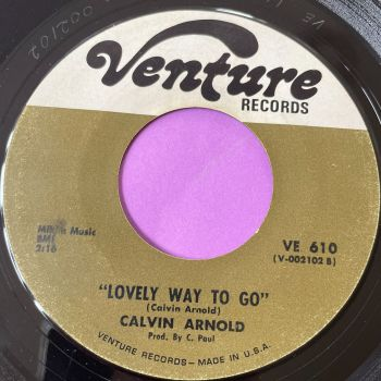 Calvin Arnold-Lovely way to go-Venture E+
