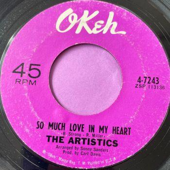 Artistics-So much love in my heart-Okeh E+