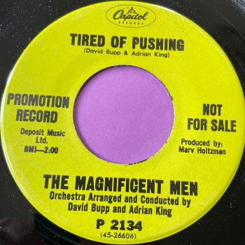 Magnificent Men-Tired of pushing-Capitol Demo E+