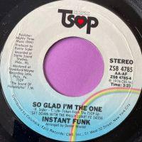 Instant Funk-So glad I'm the one-TSOP M-
