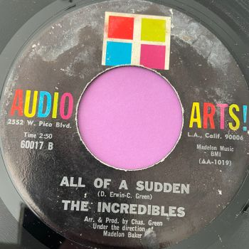 Incredibles-All of a sudden-Audio Arts vg+