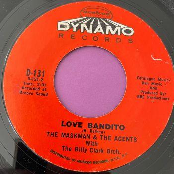 Maskman & The Agents-Love bandito-Dynamo E+