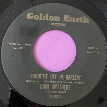 Juan Amalbert-Brok'tit off in Harlem-Golden earth E+