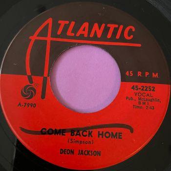 Deon Jackson-Come back home-Atlantic wol E