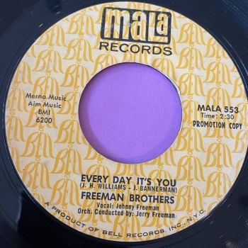 Freeman Brothers-Every day it's you-Mala Demo vg+