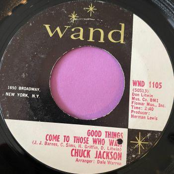 Chuck Jackson-Good things come to those who wait-Wand E+