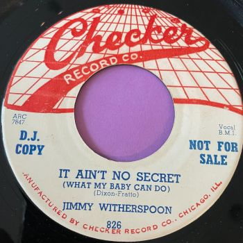 Jimmy Witherspoon-It ain't no secret-Checker E