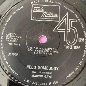 Marvin Gaye-Need Somebody-TMG 686 vg+