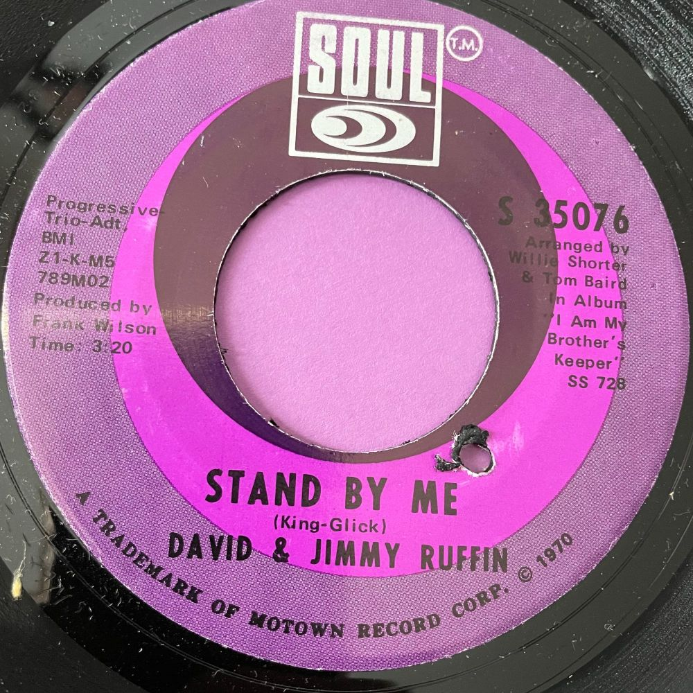 David & Jimmy Ruffin-Stand by me-Soul M-