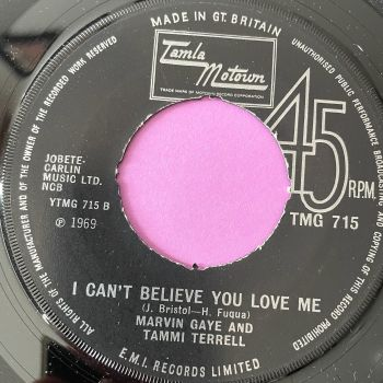 Marvin and Tammi-I can't believe you love me-TMG 715 noc M-