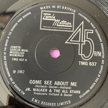 Junior Walker-Come see about me-TMG 637 M-