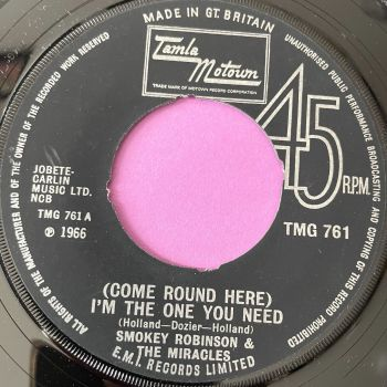 Miracles-Come around here, I'm the one you need-TMG 761 noc M-
