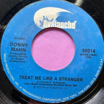Donny Mann-Treat me like a stranger-Avalanche E+