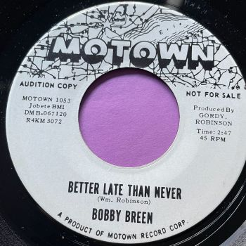 Bobby Breen-Better late than never-Motown WD M-