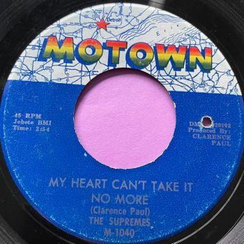 Supremes-My heart can't take it no more-Motown vg+